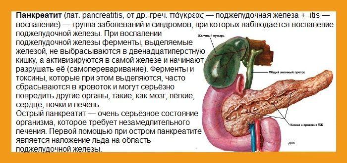 Диета при заболеваниях поджелудочной железе